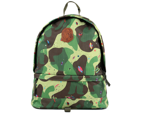 Billionaire Boys Club Pre-Fall '18 SPACE CAMO BACKPACK - OLIVE