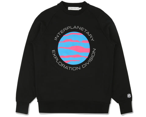 Billionaire Boys Club Fall '19 PLANET CREWNECK - BLACK