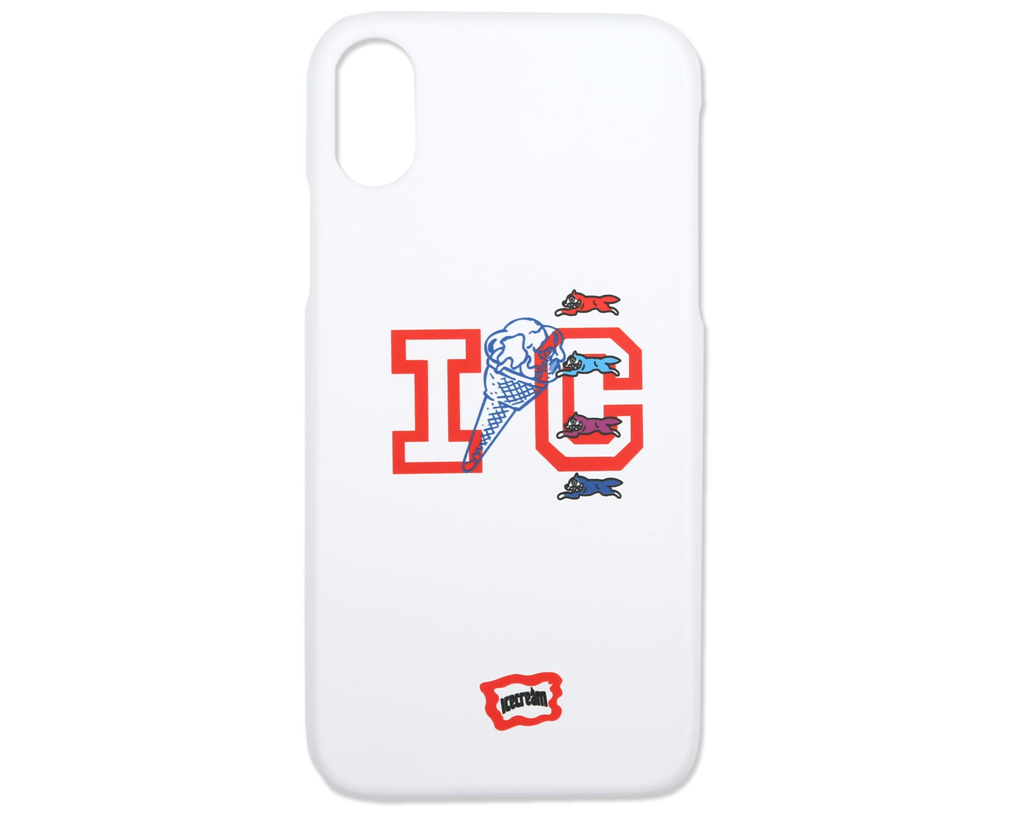 ICECREAM IPHONE CASE - WHITE