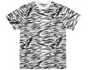 Billionaire Boys Club Spring '17 ZEBRA CAMO ALL-OVER PRINT T-SHIRT - WHITE
