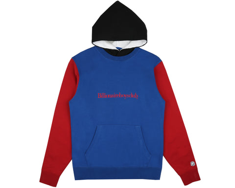 6d5c958394e7 Billionaire Boys Club Spring  19 COLOUR BLOCK POPOVER HOOD - BLUE