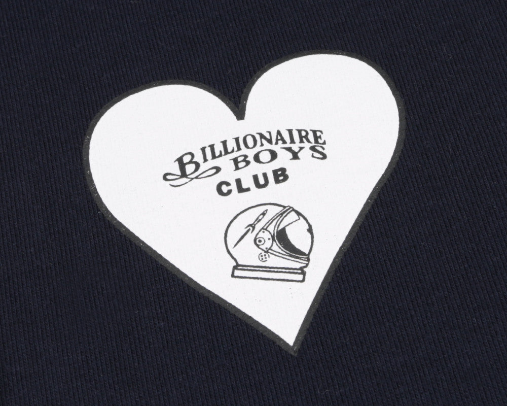 Billionaire Boys Club Spring '17 NOSE ART POP OVER HOODIE - NAVY