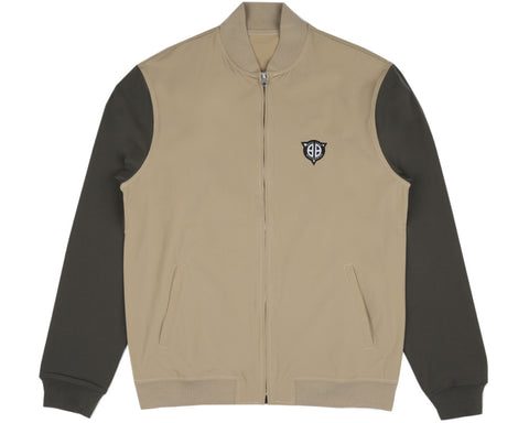 Billionaire Boys Club Spring '17 FLIGHT PATCH JACKET - SAND