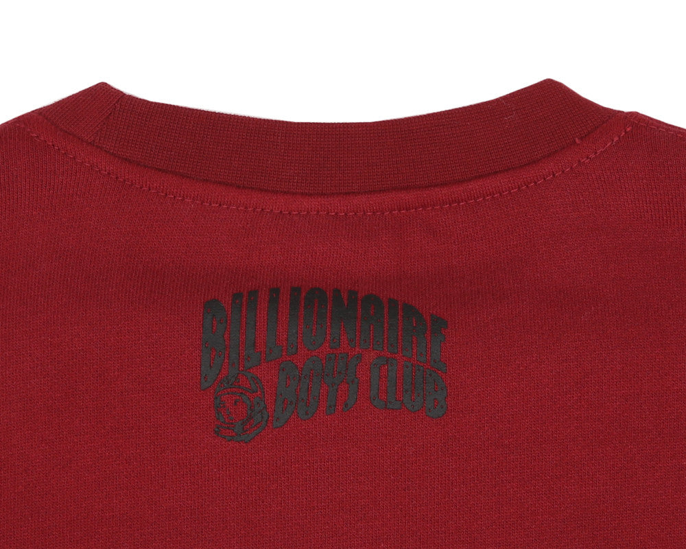 Billionaire Boys Club Pre-Spring '17 SPACE HUNT ICONS CREWNECK - BURGUNDY