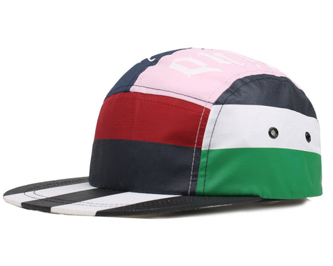 Billionaire Boys Club Spring '18 RUGBY STRIPE 5 PANEL CAP - MULTI