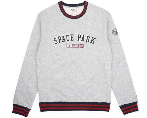 Billionaire Boys Club Pre-Spring '17 SPACE PARK CREWNECK - HEATHER GREY