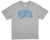 Billionaire Boys Club Pre-Fall '17 LEOPARD ARCH LOGO T-SHIRT - GREY