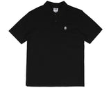 Billionaire Boys Club Spring '17 HELMET POLO SHIRT - BLACK