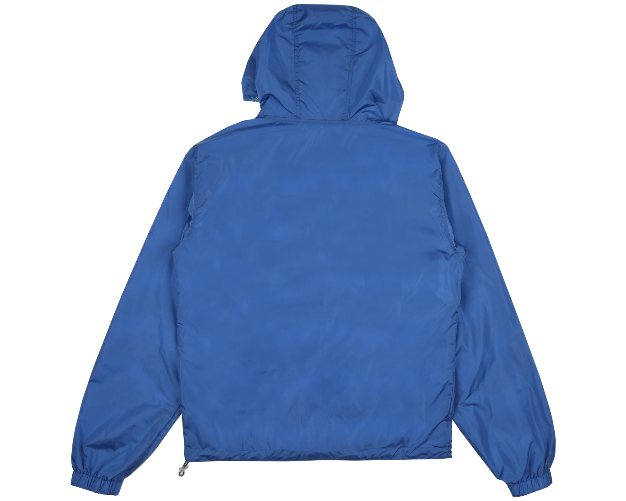 REVERSIBLE HOODED JACKET - BLUE