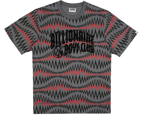 Billionaire Boys Club Spring '19 SOUNDWAVE ARCH LOGO T-SHIRT - GREY