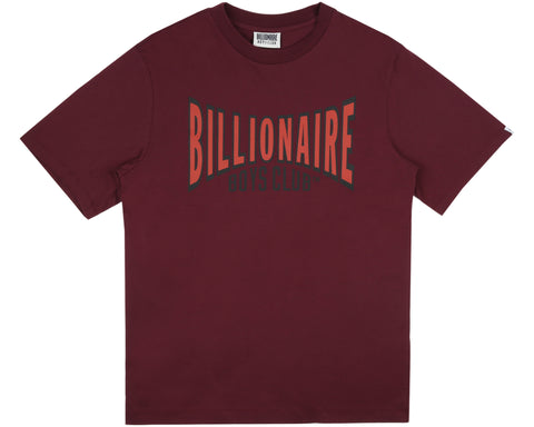 Billionaire Boys Club Pre-Spring '19 RACING LOGO T-SHIRT - BURGUNDY