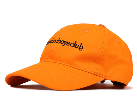 Billionaire Boys Club Fall '19 EMBROIDERED CURVE VISOR CAP - ORANGE