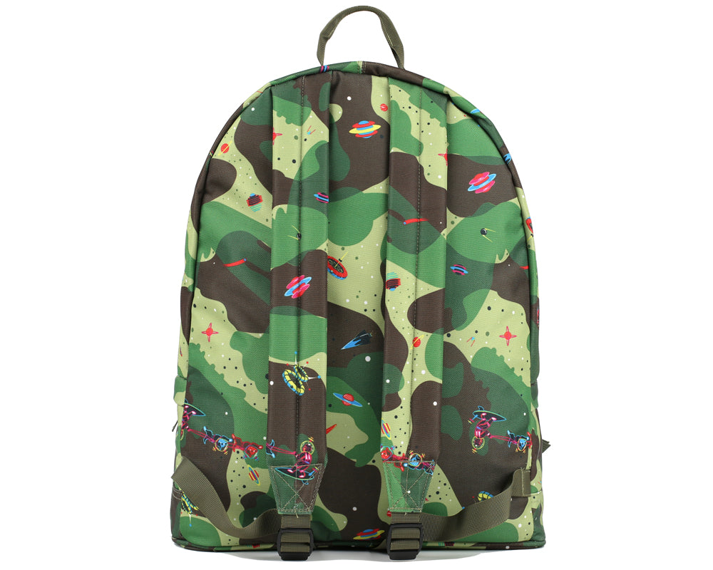 SPACE CAMO BACKPACK - OLIVE