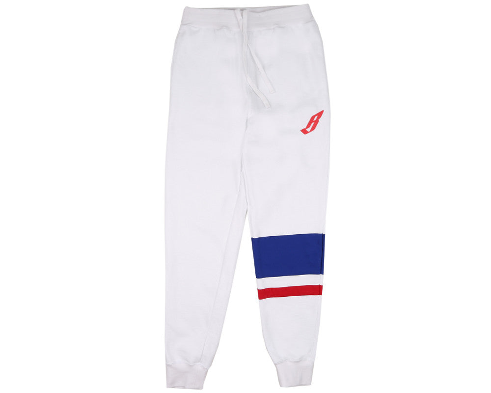 Billionaire Boys Club Pre-Fall '17 YACHT PATCH CUT & SEW SWEATPANT - WHITE
