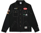 Billionaire Boys Club Pre-Spring '17 MECHANICS WORK SHIRT - BLACK