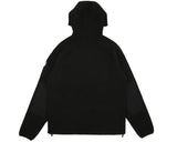 Billionaire Boys Club Spring '17 SHERPA FLEECE HOODED ZIP-THROUGH - BLACK