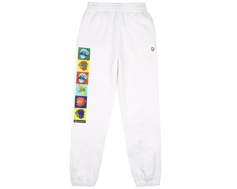 Billionaire Boys Club Pre-Fall '19 UNDER WATER SWEATPANT - WHITE