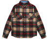 Billionaire Boys Club Spring '19 CHECK FLANNEL SHIRT - GREEN