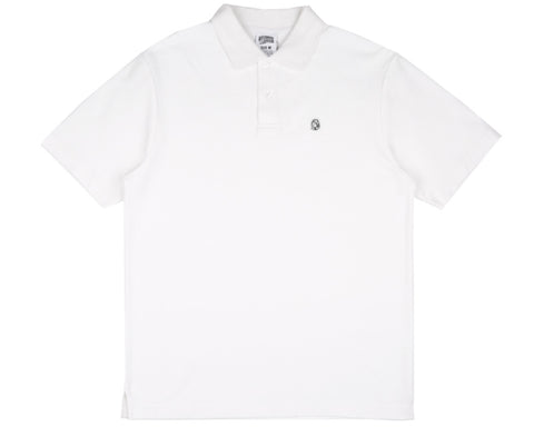Billionaire Boys Club Spring '17 HELMET POLO SHIRT - WHITE