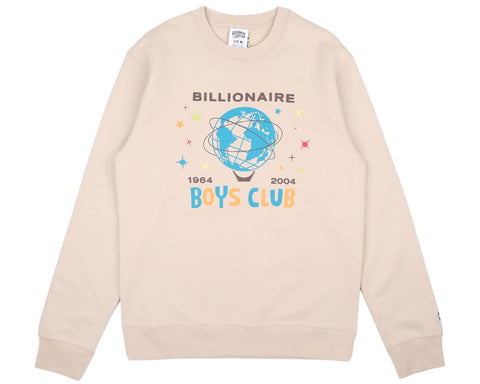 Billionaire Boys Club Pre-Spring '17 BILLION DOLLAR FAIR CREWNECK - OXFORD TAN