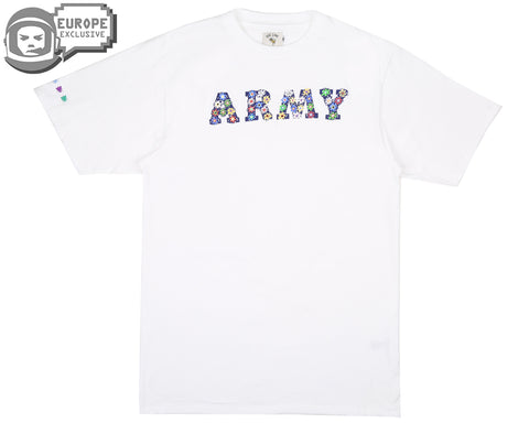 BEE LINE BEE LINE ARMY T-SHIRT - WHITE