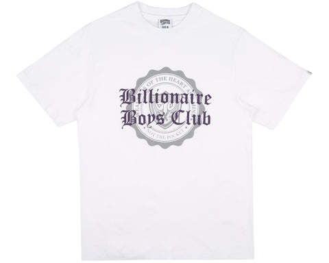 Billionaire Boys Club Fall '18 COLLEGE FLOCK PRINT T-SHIRT - WHITE