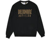 Billionaire Boys Club Pre-Fall '18 STRAIGHT LOGO REVERSIBLE CREWNECK - BLACK
