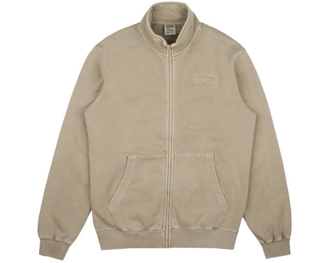 Billionaire Boys Club Fall '17 OVERDYE FUNNEL NECK ZIP-THROUGH - SAND