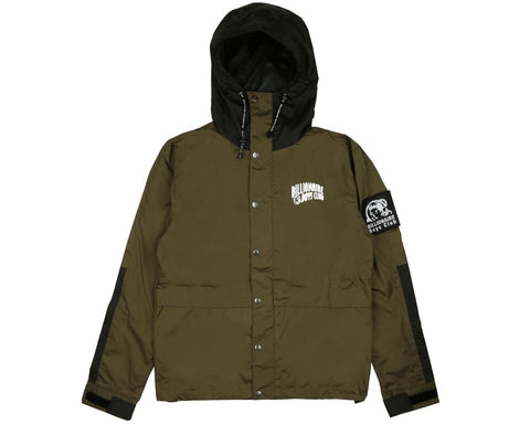 Billionaire Boys Club Pre-Fall '17 HOODED RAIN JACKET - OLIVE