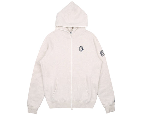 Billionaire Boys Club Pre-Spring '18 RIB KNIT FULL-ZIP HOOD - OAT