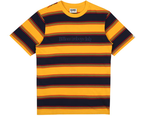 Billionaire Boys Club Pre-Spring '19 STRIPED T-SHIRT - YELLOW