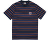 Billionaire Boys Club Pre-Fall '19 WOVEN STRIPE POCKET T-SHIRT - NAVY