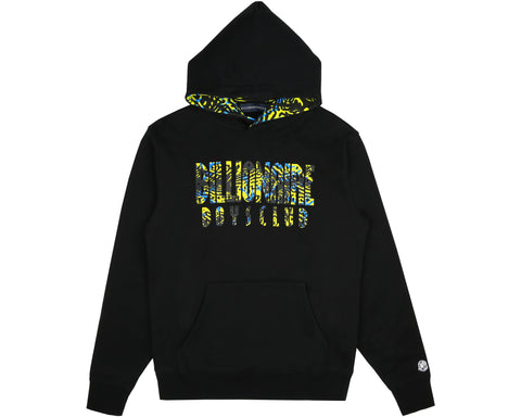 Billionaire Boys Club Pre-Fall '19 FISH CAMO POPOVER HOOD - BLACK