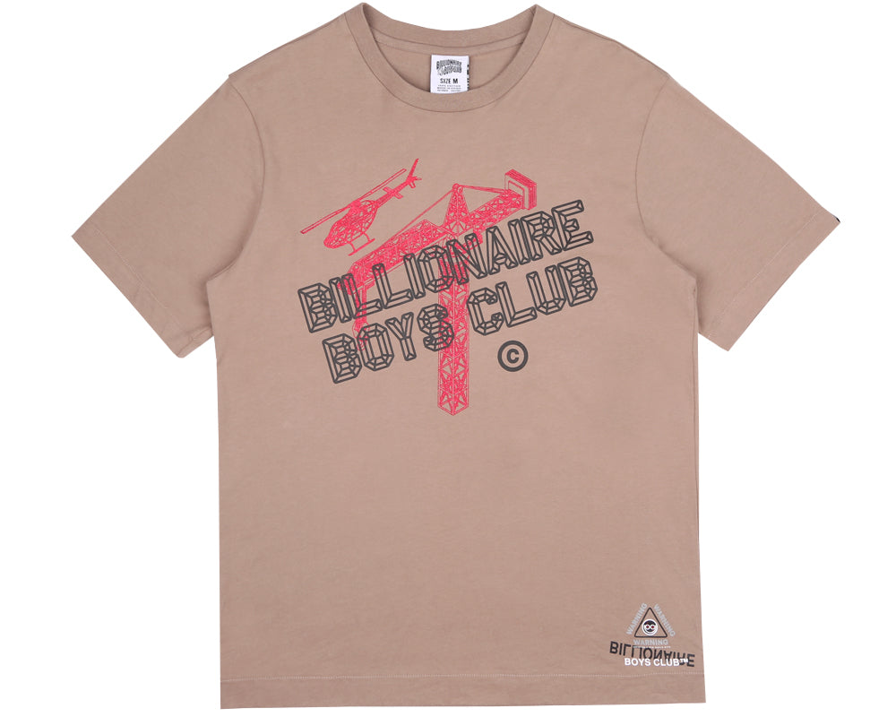 Billionaire Boys Club Pre-Spring '18 CONSTRUCTION T-SHIRT - TAN
