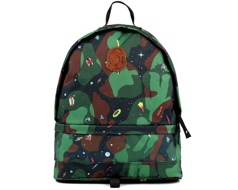 Billionaire Boys Club Pre-Fall '18 SPACE CAMO BACKPACK - BLACK