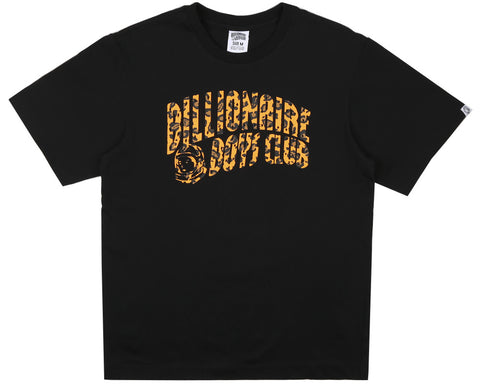 Billionaire Boys Club Pre-Fall '17 LEOPARD ARCH LOGO T-SHIRT - BLACK
