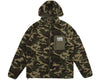 Billionaire Boys Club Spring '17 SHERPA FLEECE HOODED ZIP-THROUGH - CAMO