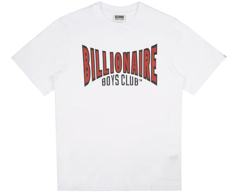 Billionaire Boys Club Pre-Spring '19 RACING LOGO T-SHIRT - WHITE