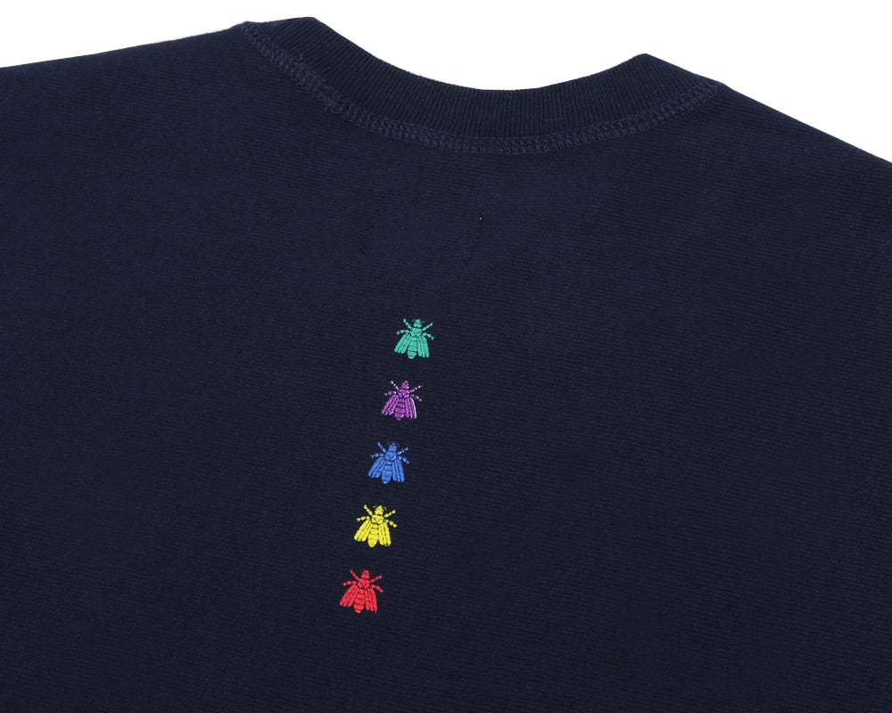 BEE LINE ARMY CREWNECK - NAVY