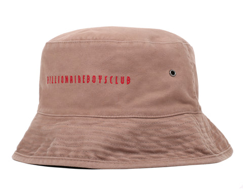 Billionaire Boys Club Fall '19 REVERSIBLE BUCKET HAT - BEIGE