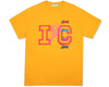 ICECREAM JAPAN IC LOGO T-SHIRT - GOLD
