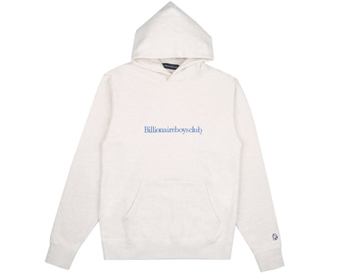 Billionaire Boys Club Pre-Fall '19 EMBROIDERED POPOVER HOOD - WHITE MARL