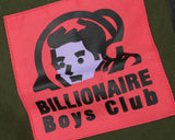 Billionaire Boys Club Spring '17 EVA PATCH RAGLAN CREWNECK - OLIVE