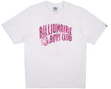 Billionaire Boys Club Pre-Fall '17 LEOPARD ARCH LOGO T-SHIRT - WHITE