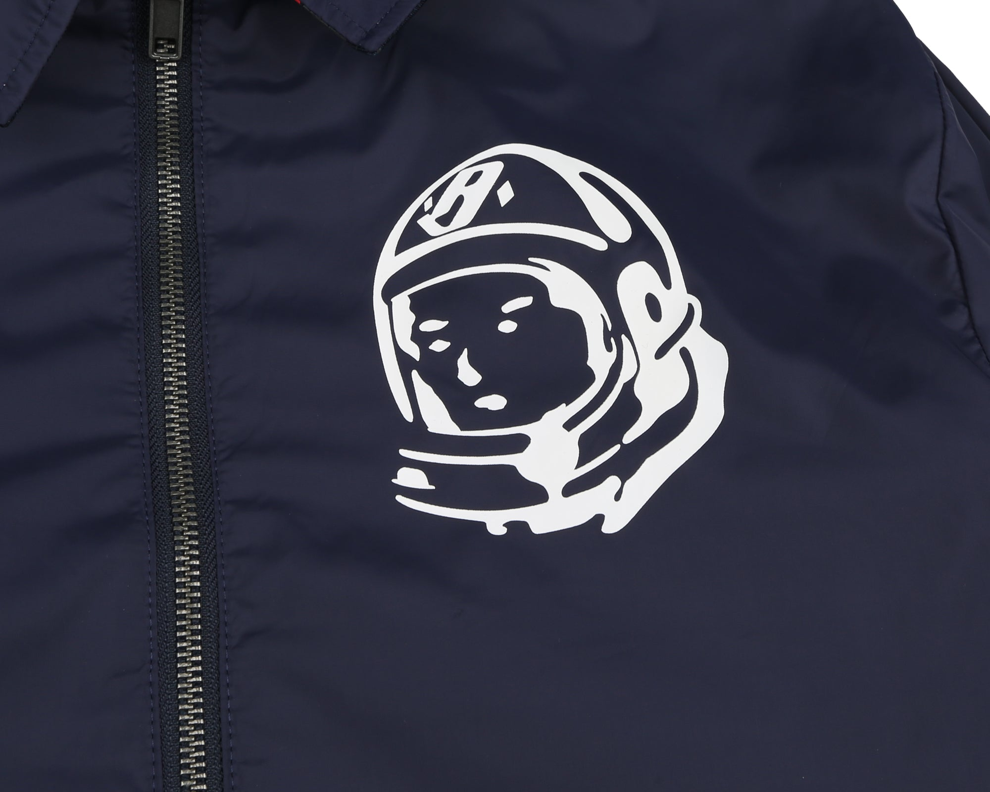 REVERSIBLE ZIP JACKET - NAVY