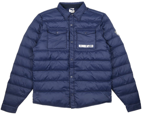 Billionaire Boys Club Fall '17 DOWN QUILTED OVERSHIRT - NAVY