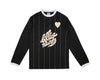 Billionaire Boys Club Spring '17 TEAM L/S SOCCER JERSEY - BLACK