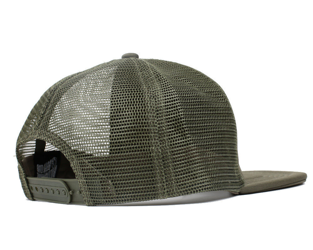 MANTRA TRUCKER CAP - OLIVE