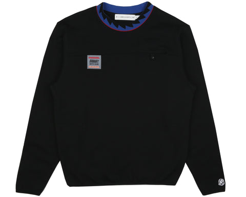 Billionaire Boys Club Spring '19 POCKET CREWNECK SWEATSHIRT - BLACK