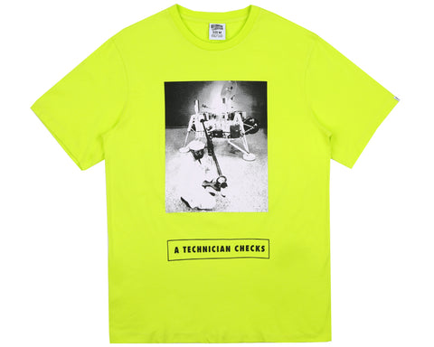 Billionaire Boys Club Pre-Spring '18 TECHNICIAN T-SHIRT - CYBER YELLOW